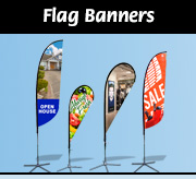 Flag Banners, Feather Flags, Teardrop Flags
